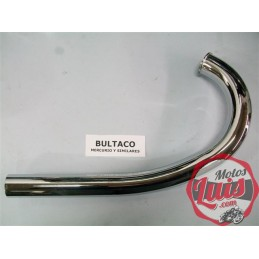 Codo Escape Bultaco Mercurio