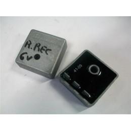 Regulador - Rectificador de Corriente 6V 3 fastom C.A - C.C