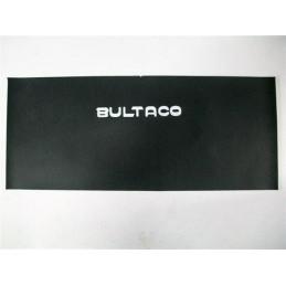 Parche Retal Tapizado Asiento Bultaco Letras Blancas Grande