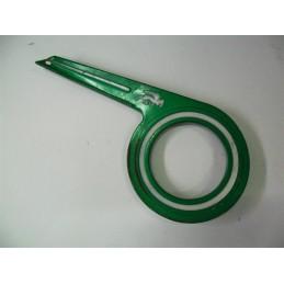 Cubrecadenas BH Gacela Verde