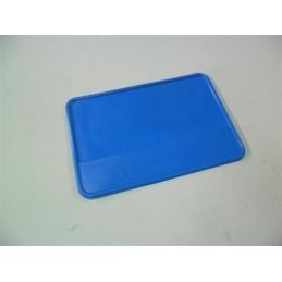 Portanumeros Cuadrado Azul