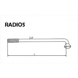 Radio 3 x 145 mm