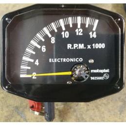 Cuenta RPM Motoplat 0-14.000 Negro