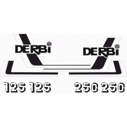 Juego Adhesivos Derbi RC...