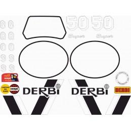 Juego Adhesivos Derbi RD 50