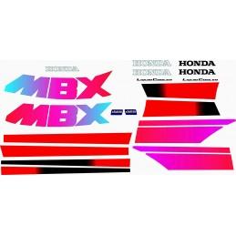 Juego Adhesivos Honda MBX...