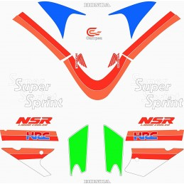 Juego Adhesivos Honda NSR 75