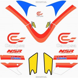 Juego Adhesivos Honda NSR...