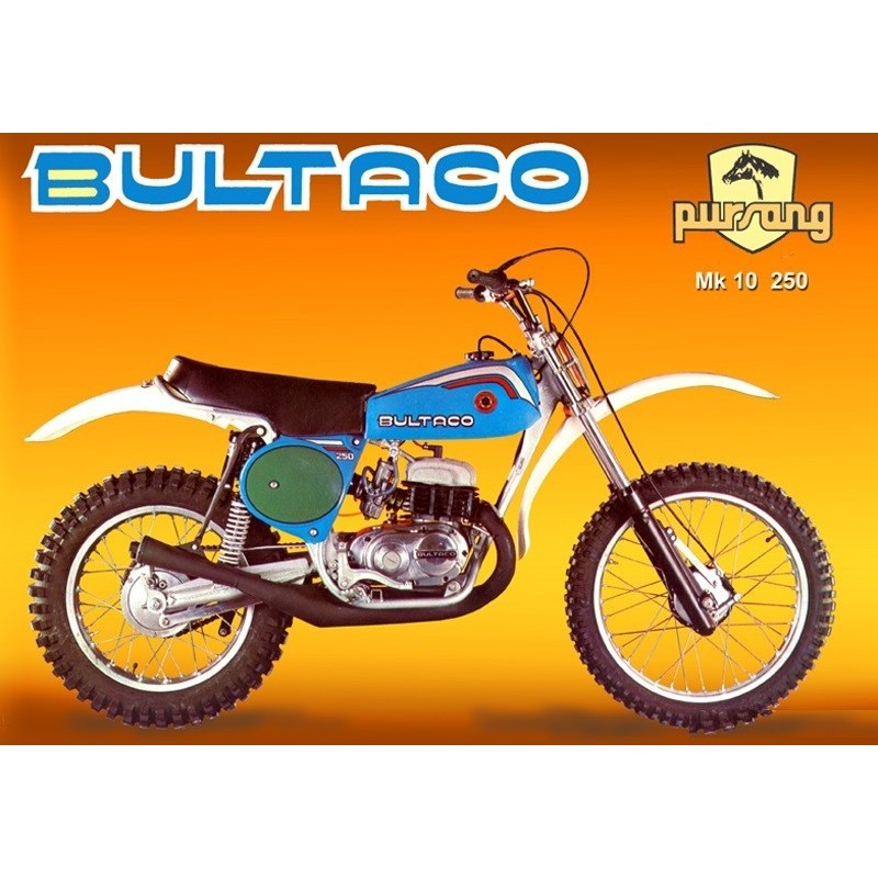 FILTRO DE AIRE BULTACO FRONTERA//PURSANG HASTA 1979