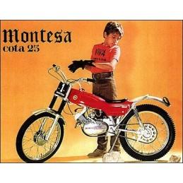 Guardabarros Montesa Cota...