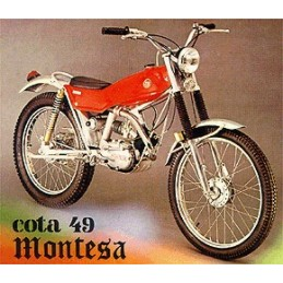 Guardabarros Montesa Cota...
