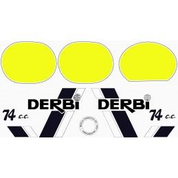 Juego Adhesivos Derbi TT8...