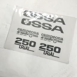 Juego Adhesivos OSSA TR80 -...