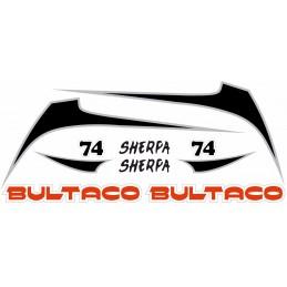 Juego Adhesivos Bultaco...