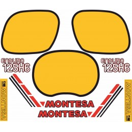 Juego Adhesivos Montesa...