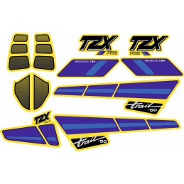 Juego Adhesivos Puch TZX Trail