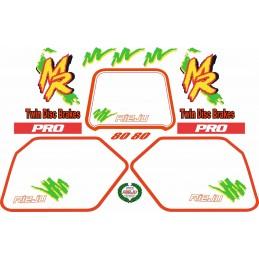 Juego Adhesivos Rieju MR80 Pro