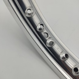 Llanta Aluminio 1.60-17 28...