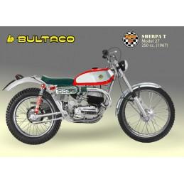 Asiento Bultaco Sherpa Mod....
