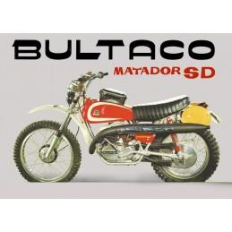 Caja Filtro Bultaco Matador...
