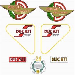 Juego Adhesivos Ducati 125...