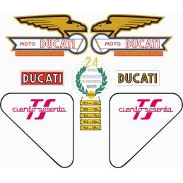 Juego Adhesivos Ducati 160 TS