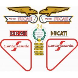 Juego Adhesivos Ducati 160...