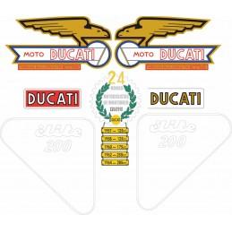 Juego Adhesivos Ducati 200...