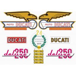 Juego Adhesivos Ducati 250...