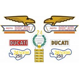 Juego Adhesivos Ducati 24...