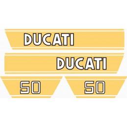 Juego Adhesivos Ducati 50...