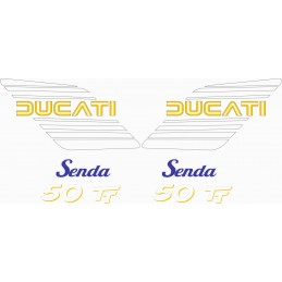 Juego Adhesivos Ducati...