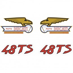 Juego Adhesivos Ducati 48 TS