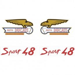 Juego Adhesivos Ducati 48...