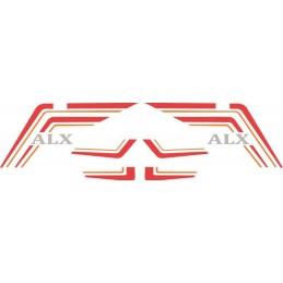 Juego Adhesivos Vespino ALX...